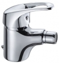 Single Lever Bidet Mixer Panam Cross W/Brass Pop-Up