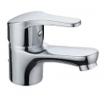 Single Lever Basin Mixer Dune W/Brass Pop-Up